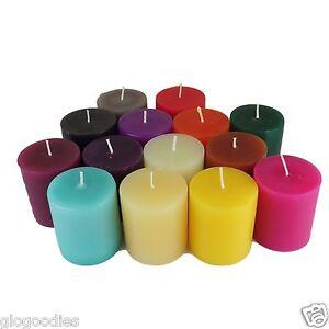 Round-Colour-Pillar-Church-Candle-Hand-made-70x100mm