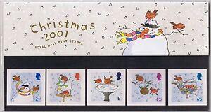 GB-Presentation-Pack-328-2001-Christmas-Robins-2001