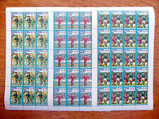 St VINCENT GRENADINES Wholesale Mexico Football World Cup 3 Sheets of 20 FP2462