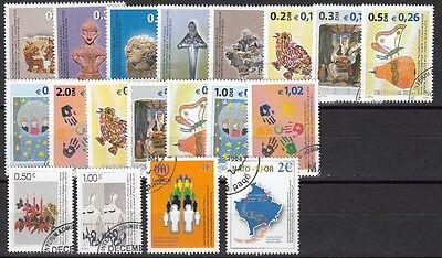21941 2000/04 Freimarken 1-19 Gestempelt, Kosovo Komplette Artikelauswahl
