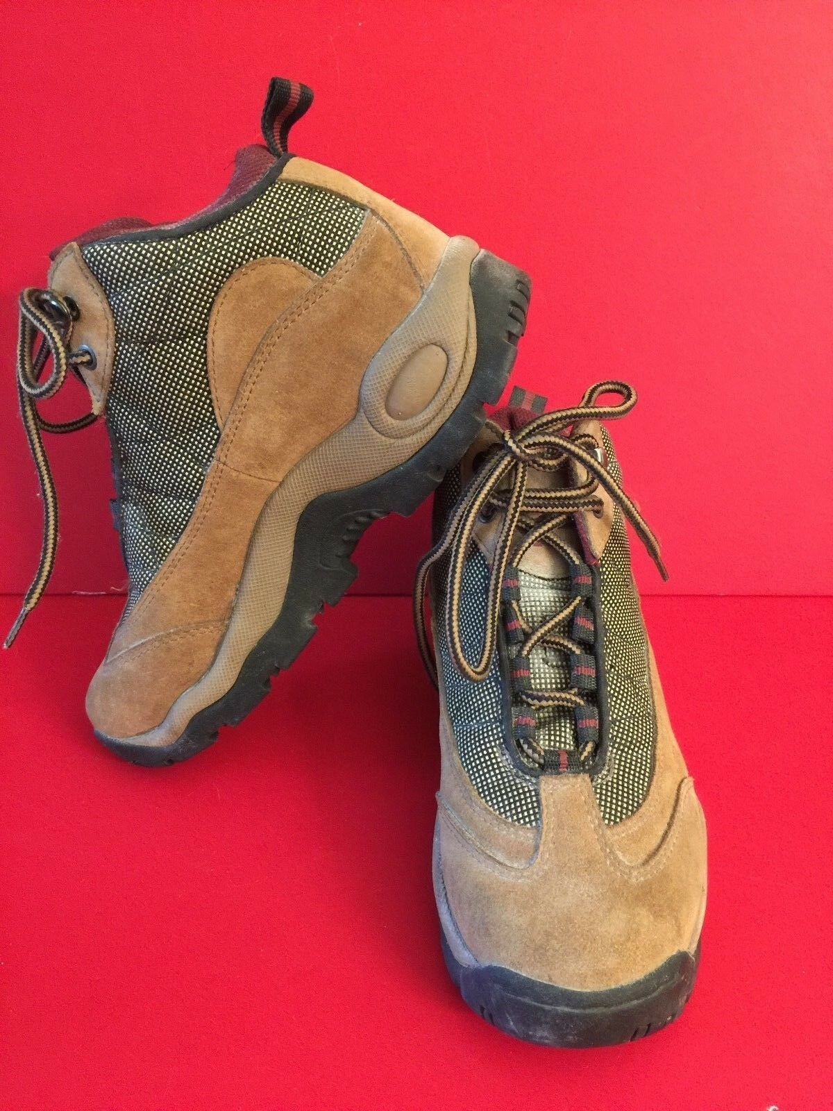 Hi Tec Brown Suede High ankle Climbing Boots Lady Latitude 7282w Size 8
