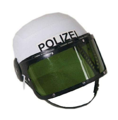 mit Polizeimütze und SWAT Spielzeug-Set Polizei Fasching Accessoire Set kv-192