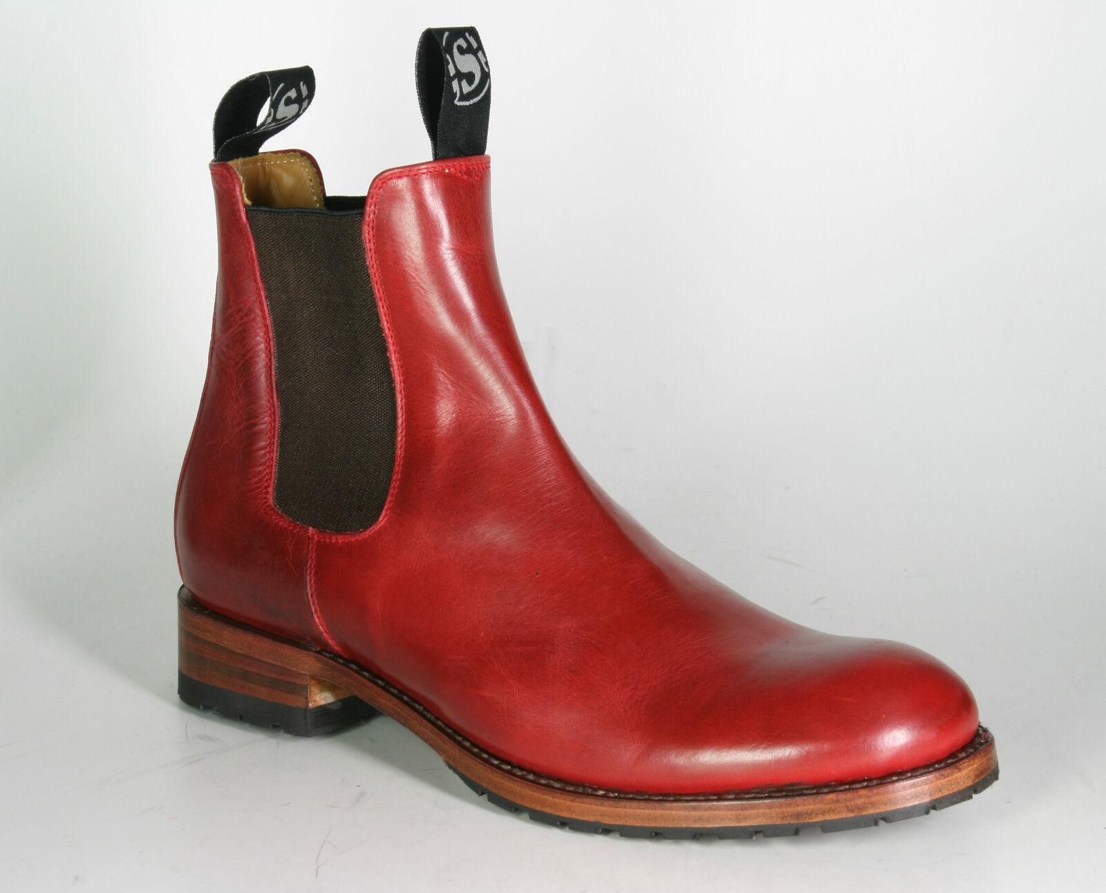 5595 5595 5595 Sendra Chelsea Stivaletti Boots Kaspar ROJO ROSSO b208a3