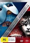 Les Miserables / Phantom Of The Opera - 25th Anniversary Edition (DVD, 2012, 2-Disc Set)