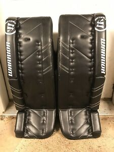 44e021f0c3e Image is loading Warrior-Ritual-G3-Hockey-Goalie-Leg-Pads-Intermediate-
