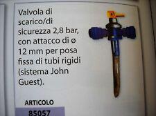 VALVOLA  SCARICO DI SICUREZZA TRUMA  3,5 BAR  PER CARAVAN E CAMPER