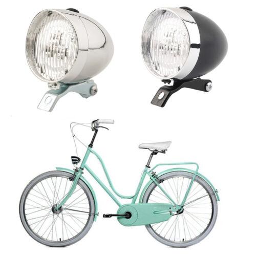 Safety Retro Bike Head Lights Bicycle Front Light Helmet Flashlight Cycling