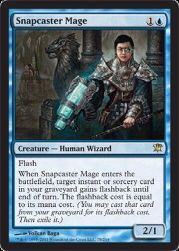 English Innistrad MTG Magic 1x Snapcaster Mage Light Play