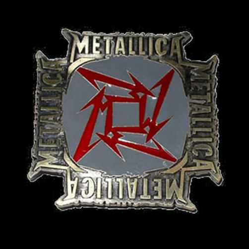 Metallica - Gürtelschnalle - Brandneu - Schwerlast Musik BBMET12