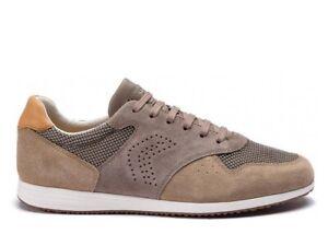 Geox-ARSIEN-U926NA-02214-Beige-Sneakers-Scarpe-Uomo-Calzature-Casual