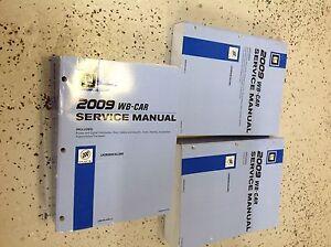 2009 buick lacrosse allure service shop repair workshop manual set rh ebay com Honda 9Hp Engine Shop Manual WF328AAW XAA Service Manual