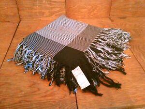 """100/% Silk 35"""" twill Square Scarf Women Shawl Wrap Plaid houndstooth MY108-11"""