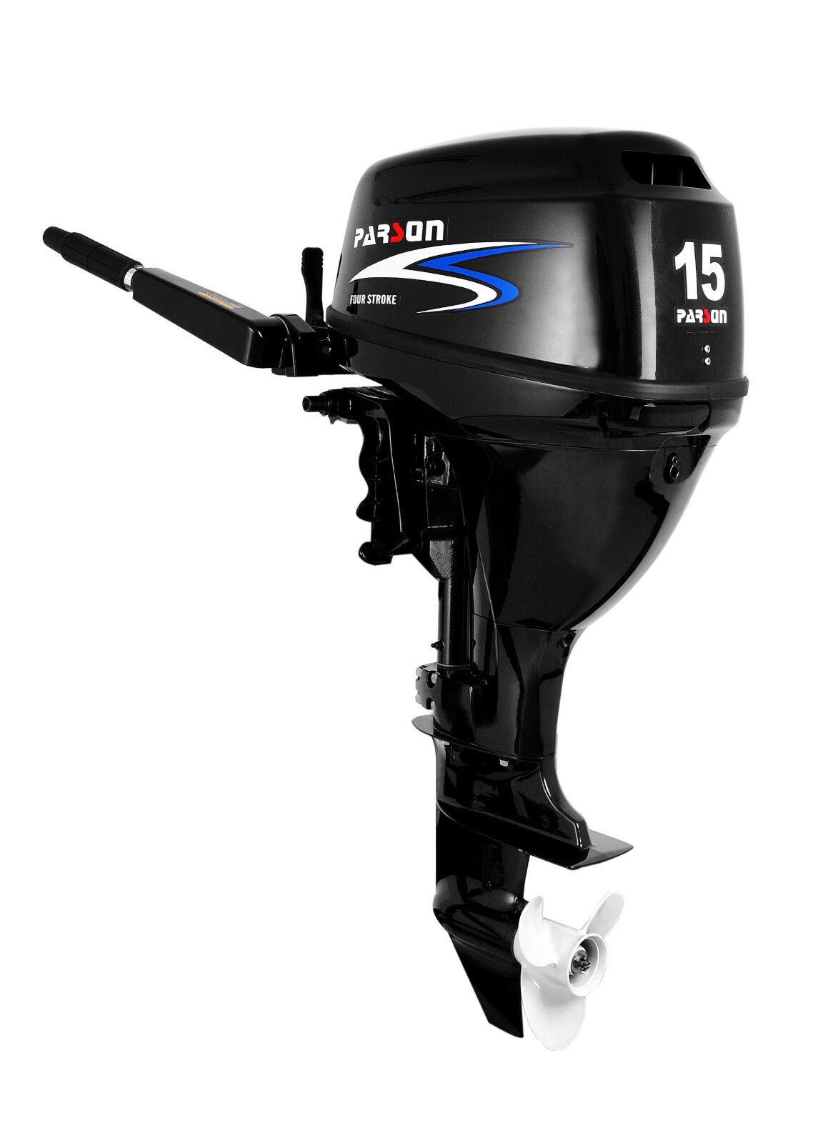 15PS FWL Parson Parsun / Parson FWL Außenbordmotor/Außenborder Langschaft, FB, E-Start 4dd7c2