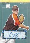 (HCW)2007 Just Rookies Autographs EDDIE KUNZ Auto MLB Baseball New York Mets