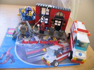 LEGO-4857-Spiderman-Doc-Ock-039-s-Fusion-Lab-VERY-RARE