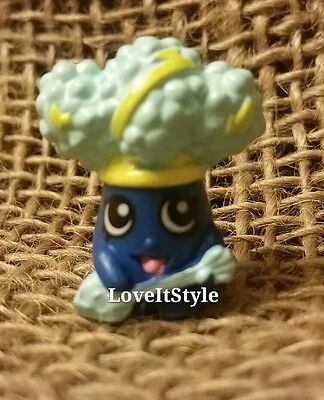 NEW Shopkins Season 1 Rockin/' Broc 1-009 Blue broccoli fruits /& vegetables