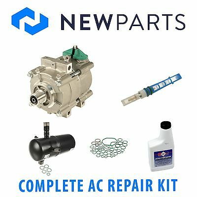 For Lincoln Town Car 1986 1987 1988 AC Compressor w// A//C Drier /& Exp