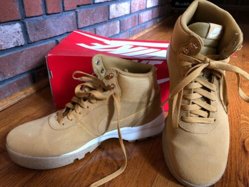 Nike pour 727 hommes taille Bottes 9 Hoodland 654888 Suede w1Cd6