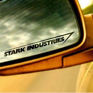 Stark Industries Auto Aufkleber 15cm Heck Jdm Sticker Tuning