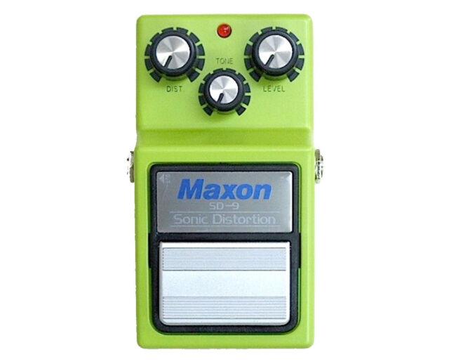 Maxon SD-9 Sonic Distortion Overdrive Guitar SD9 Free worldwide shipping