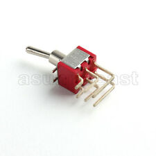 5 Mini Right Angle Toggle Switch Switches Dpdt 3 Position On Off On Pcb Mount