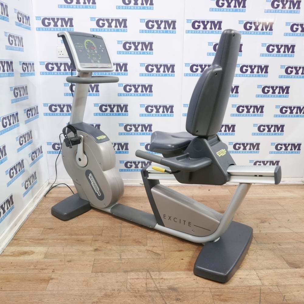 Refurbished Technogym Excite+ 500i Recline Bike (Commercial Gym Equipment)