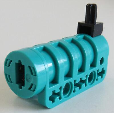 1 x Lego Technic Kanonen Pfeil neu-hell grau schwarz mit voll Gummi Ende Kanone