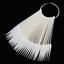 40PC-False-Nail-Art-Polish-Gel-Art-Tip-Sample-Practice-Display-Fan-Swatch-Holder thumbnail 7