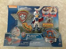 Nickelodeon Paw Patrol Air Rescue Ryder Figure Badge Boy New