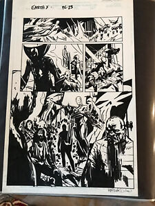 SIGNED-Marvel-Earth-X-Original-Art-Issue-2-Page-23