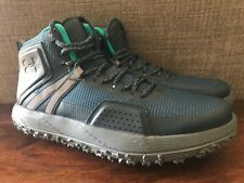 NEW Under Armour UA Fat Tire Mid Men/'s Trail Hiking Boots Blue Gray 1296611-861
