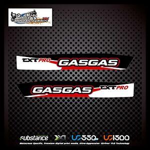 Gas Gas Renthal DP S3 Swingarm Red Decal Sticker Trials 596