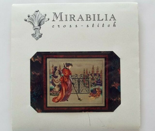 My Lady's Garden Md9 Mirabilia Counted Cross Stitch Pattern Nora Corbett