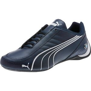 100% Ori PUMA shoes Future Cat Leather SF BMW Shoes blue