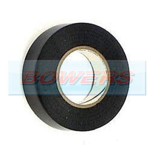 BLACK INSULATION TAPE 19MM WIDE X 20M LONG X 0.15MM THICKNESS