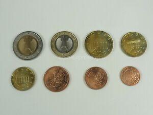 *** EURO KMS DEUTSCHLAND bankfrisch Kursmünzensatz Auswahl Jahre und A D F G J