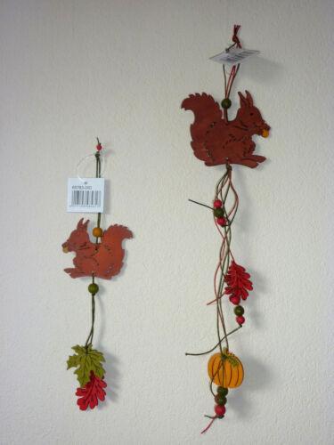Eichhörnchen-Hänger zum Aufhängen Deko Herbst Herbstdeko