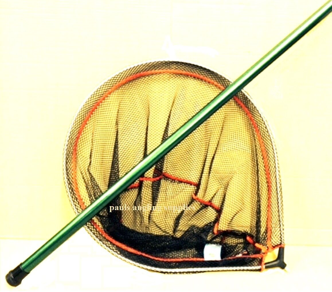 24   Spoon Type Approved  Fishing Landing Net & 3 Metre  Handle