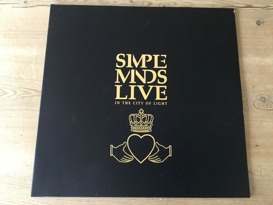 LP, Simple Minds, Live In The City Of Light