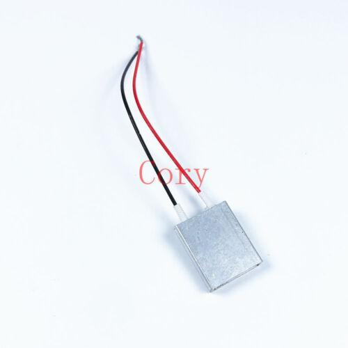 1pcs PTC Heating Element Thermostat Heater Plate 25mm x 20mm x 5mm 5//12//24//220V