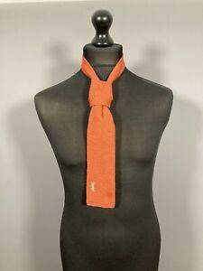 Yves Saint Laurent kniited Nackenträger-orange-super Zustand-Herren