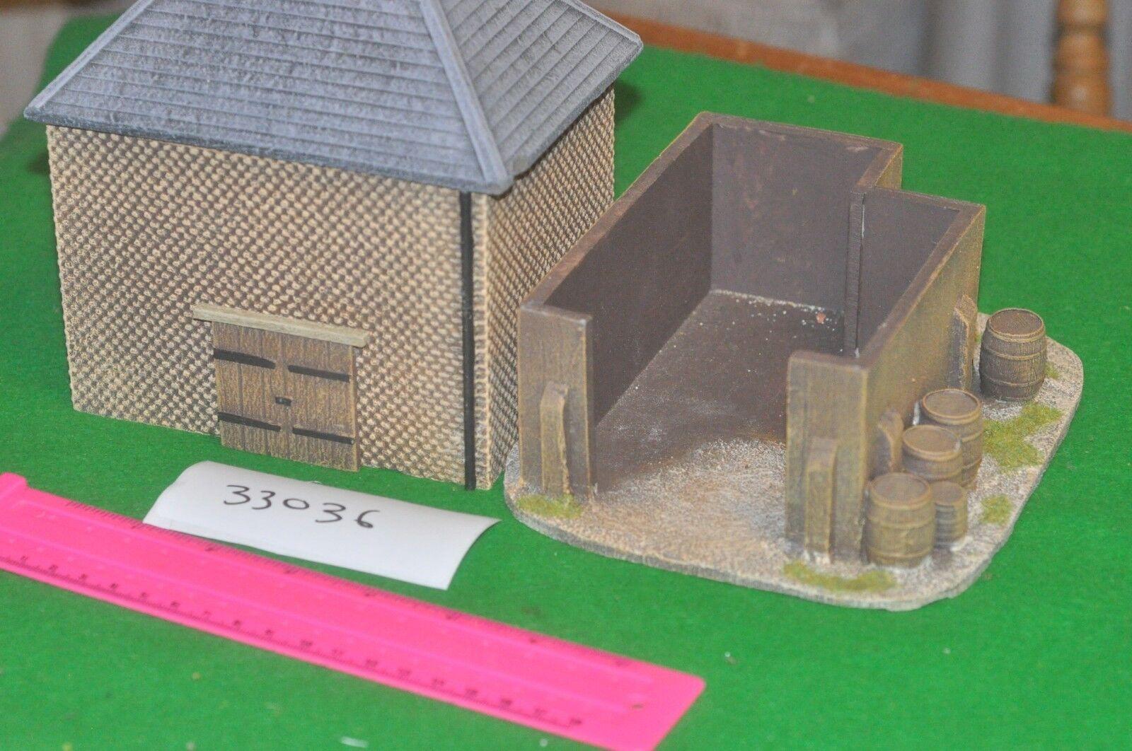 25mm   - garage & storage shed - scenics (33036)
