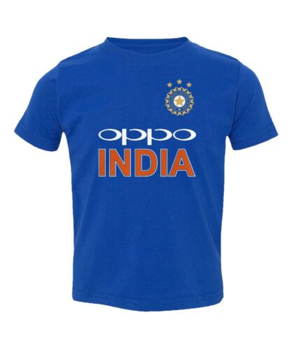 Cricket India Jersey Style Rohit 45 Kids Girls Boys Toddler T-shirt