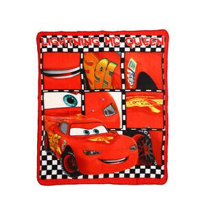 DISNEY-plaid-polaire-couverture-CARS-rouge-120-x-140-cm-NEUF