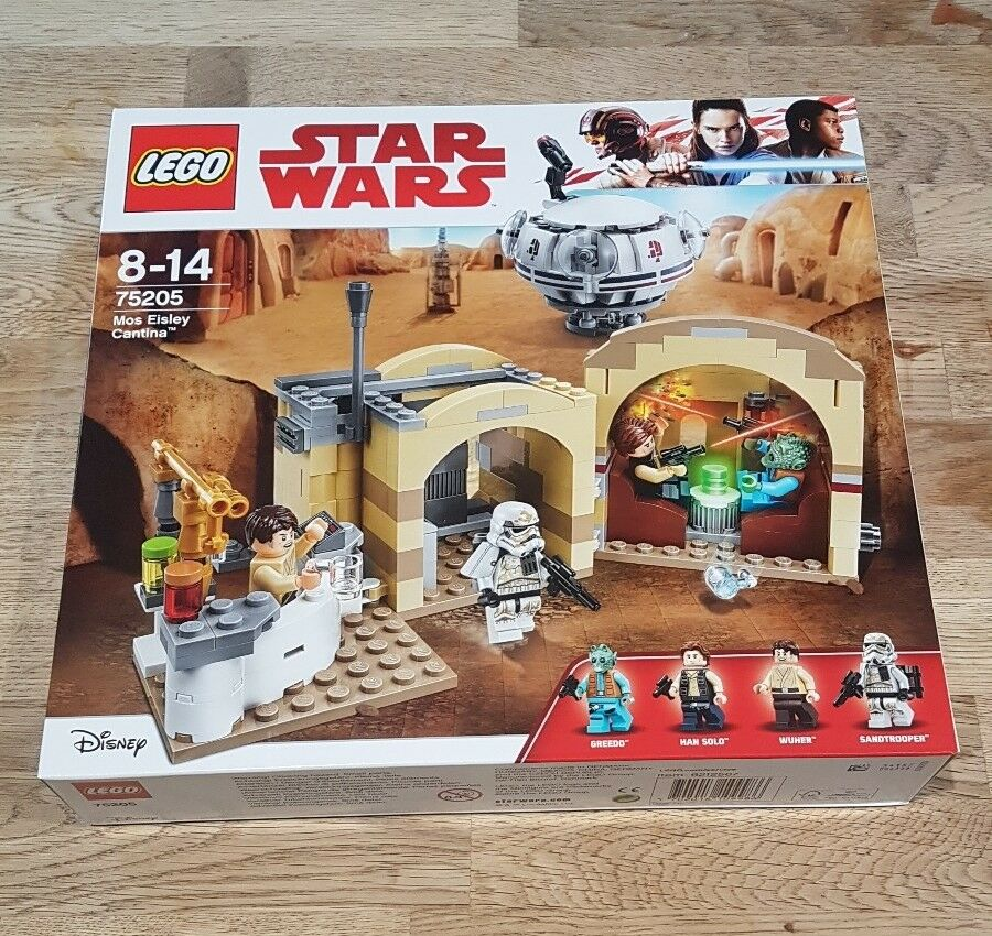 Lego Star Wars Mos Eisley Cantina 75205 Brand New in Factory Sealed Box In hand
