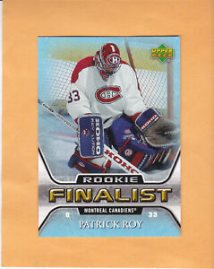 2005-06-UPPER-DECK-PATRICK-ROY-ALL-TIME-GREATEST-ROOKIE-77-MONTREAL-CANADIENS