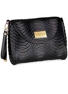 Image is loading Versace-Parfums-Wristlet-Clutch-Bag-Evening-Travel-Purse- 50c47373d6