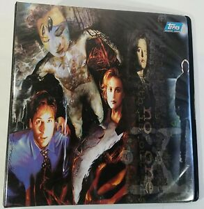 X-Files-Topps-Binder-Album-for-Trading-Cards-Comic-Books-1995