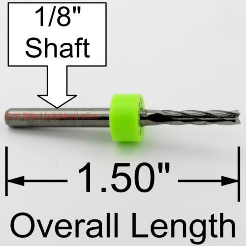 ".0945/"" 3//32/"" Five Flute /< Premium Edge Finish /> Carbide End Mill CNC PCB m189"