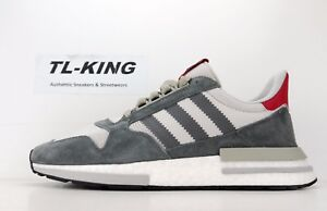 wholesale dealer 60d58 985ae Image is loading Adidas-Originals-ZX-500-RM-Boost-Grey-Four-